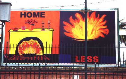 Homeless Billboard