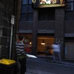 Lightbox permanent installation, Higson Lane Melbourne